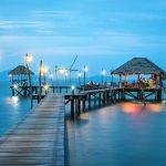 En exotisk plats att besöka för semester med vänner